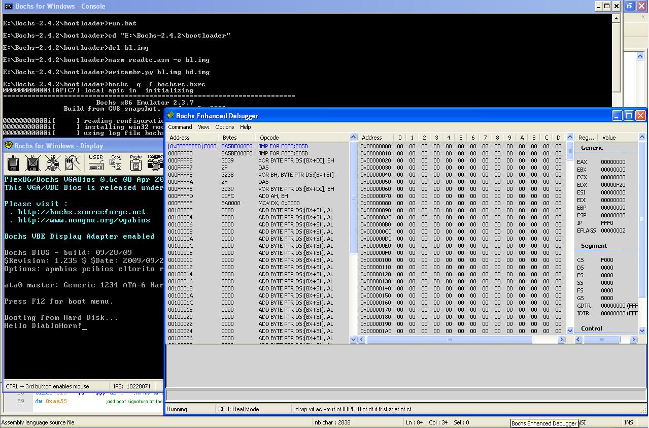 Bootloader Development Environment | DiabloHorn