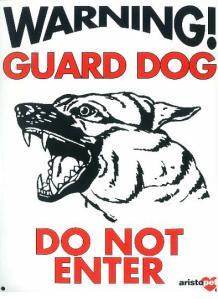 AJ127_Large_Warning_Guard_Dog